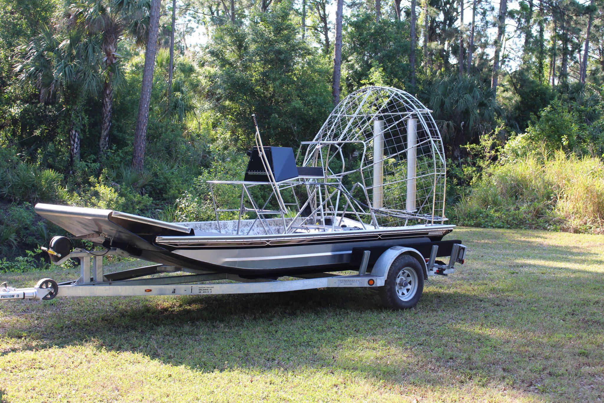 KIT BOAT 4 – Diamondback Airboats